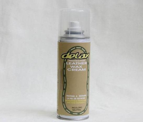 Spray grasa para botas de piel