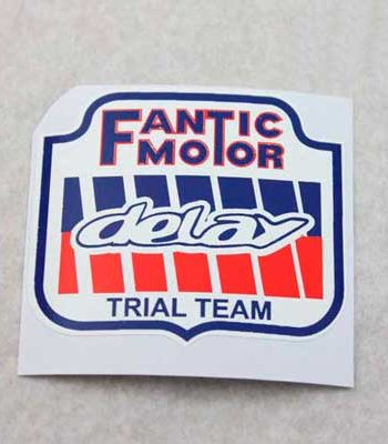 Adhesivo Fantic de Delay Trial Team