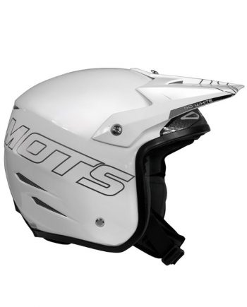 Casco de Trial MOTS GO Blanco