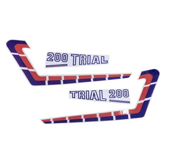 Adhesivos placas laterales originales Fantic 200