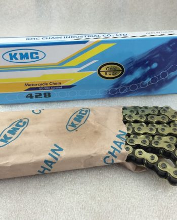 Cadena KMC 428 ORO/NEGRA